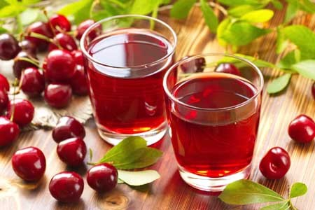 cherry juice aids muscle recovery